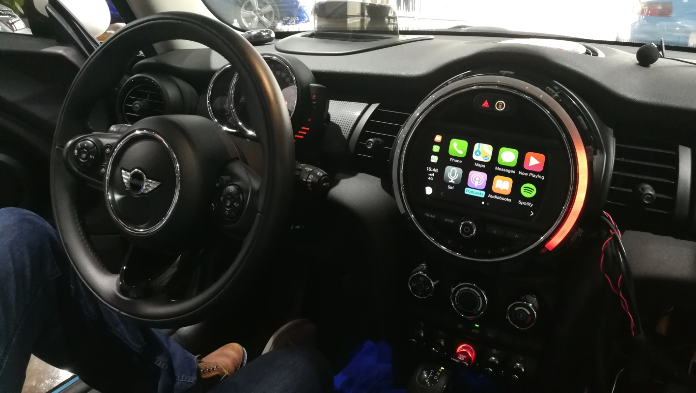 Mini Cooper Carplay Retrofit Upgrade For 2017 Nbt System