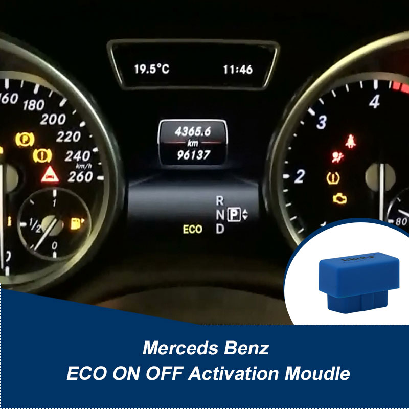 Merceds Benz ECO ON OFF Setting module