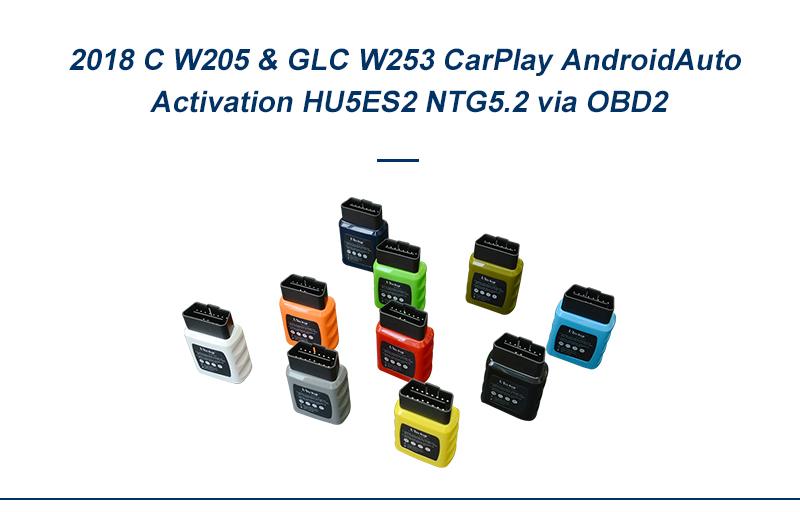 Mercedes C W205 CarPlay, W253 GLC CarPlay