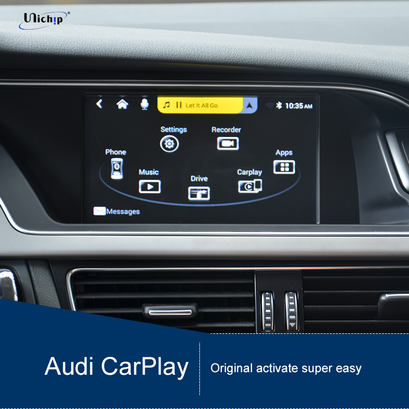 Audi CMM2 Q5 A3 A4 Apple CarPlay and Google Androidauto DVR RCA Waze Google Maps CMM2