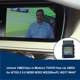 MB VIM TV Free W205 W217 W222 W447 MY2018+ Via OBD2 NTG5.2