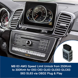 MB 63 AMG Speed Limit Unlock to 300Kmh  for E63 C63 GL63 GLE63 GLC63 S63 SL63