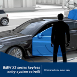BMW X3 Series Keyless Entry System Retrofit