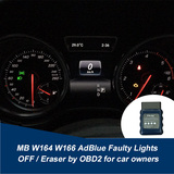 MB W164 W166 AdBlue Faulty Lights OFF / Eraser by OBD2 for car owners