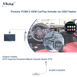 Porsche PCM4.0 PCM4.1 OEM CarPlay Activation via USB