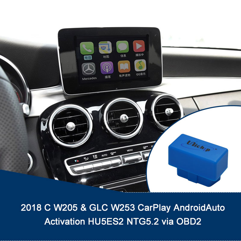 2018 C GLC CarPlay AndroidAuto Activation HU5ES2 NTG5.2 via OBD2