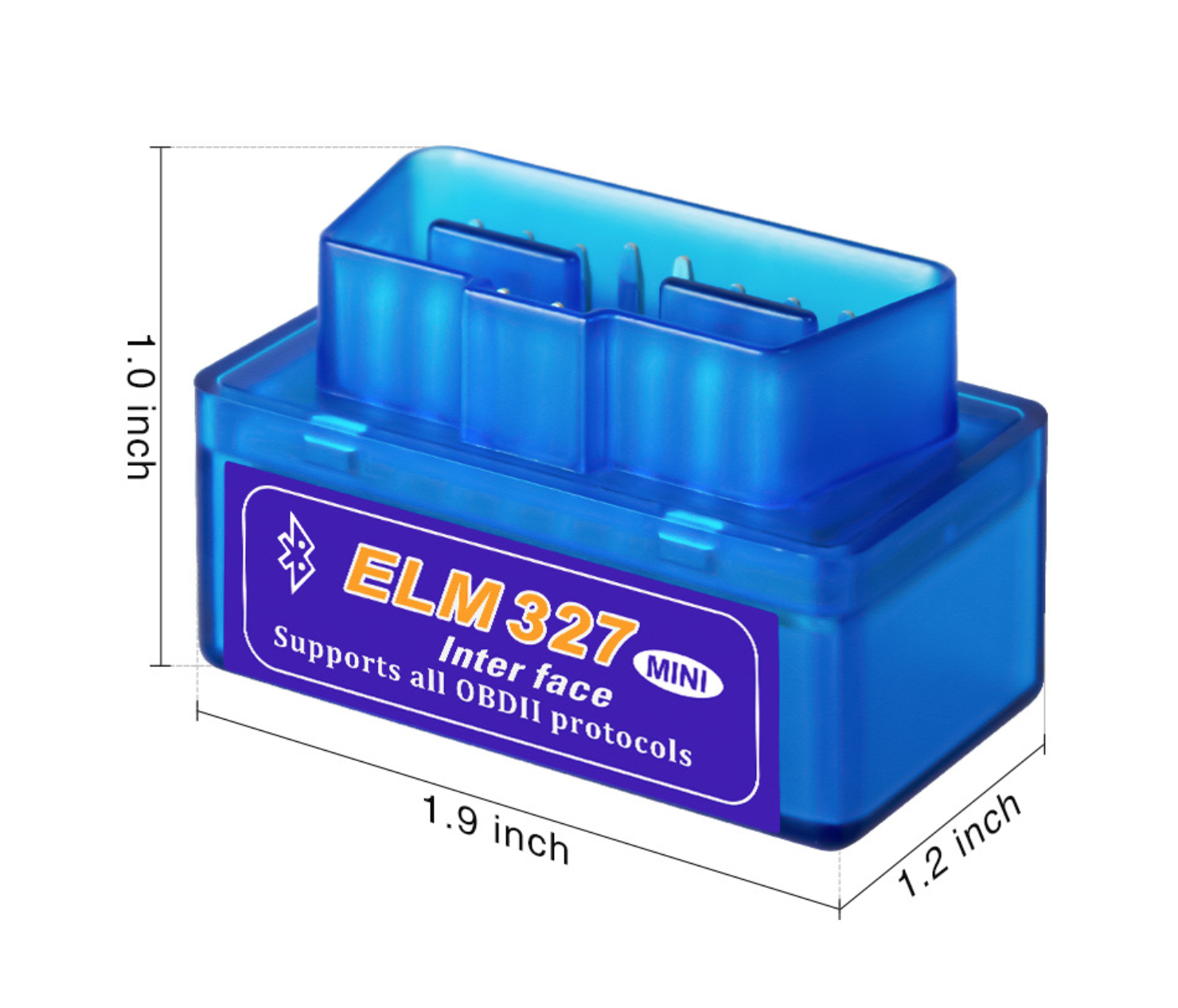 MINI ELM327 Bluetooth OBD2 Diagnostic Adapter